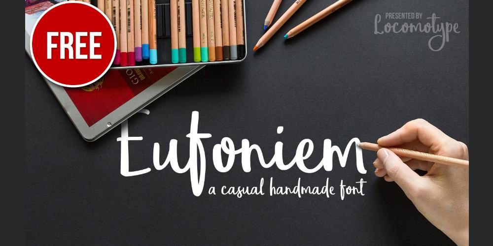 Eufoniem Script Font