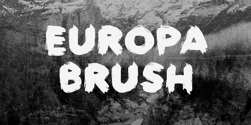 اروپا قلم مو قلم