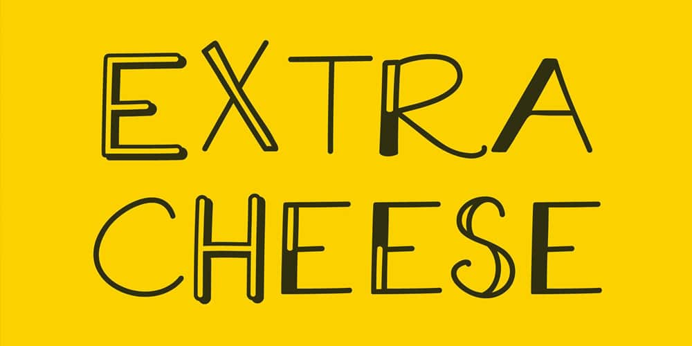 Extra Cheese Font