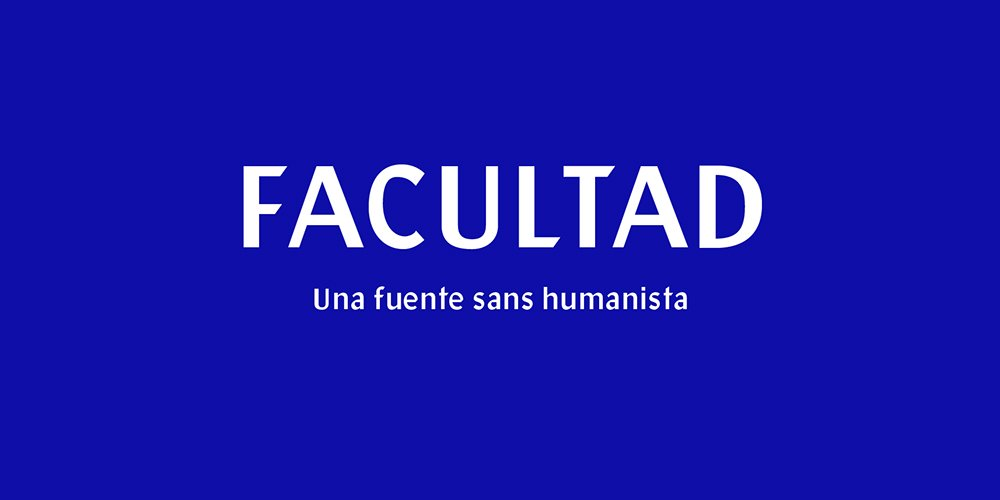 Facultad Display Sans