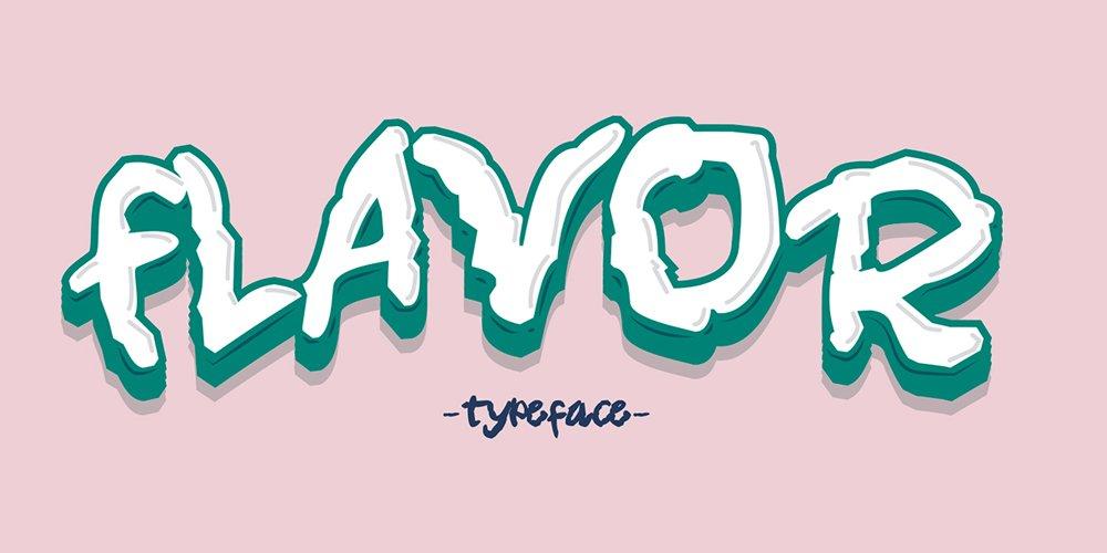 Flavor Typeface