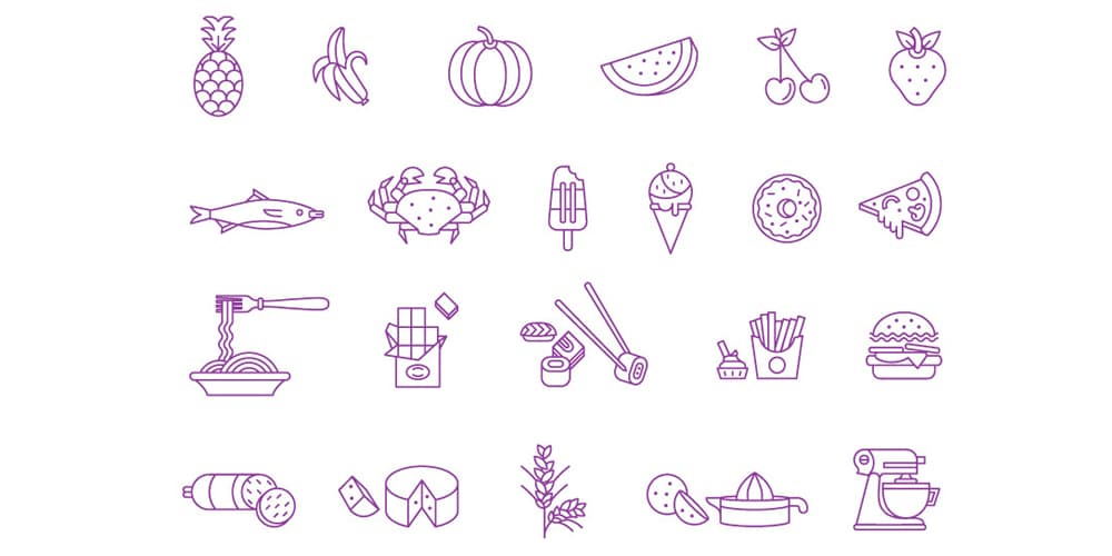 Food-and-Beverage-Vector-Icons