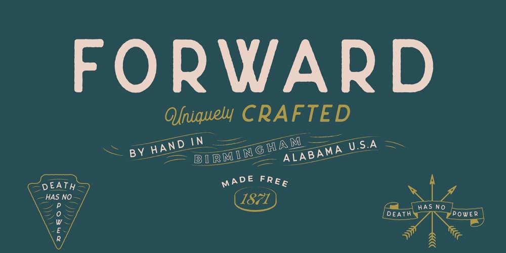 Forward Font
