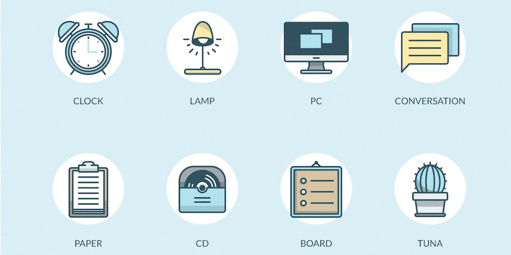 Free And Friendly Office Icons