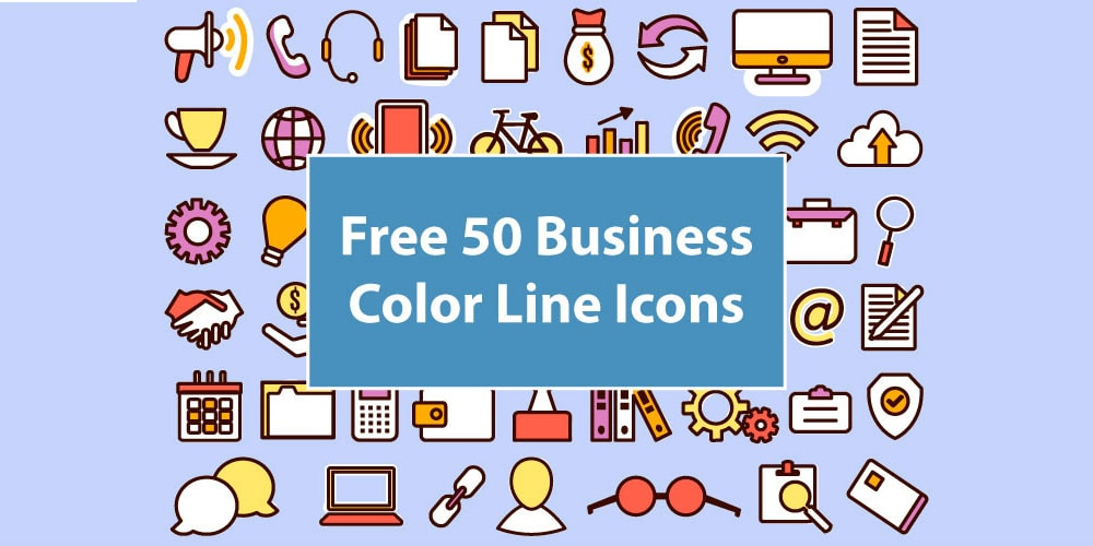 Free Business Line Icons