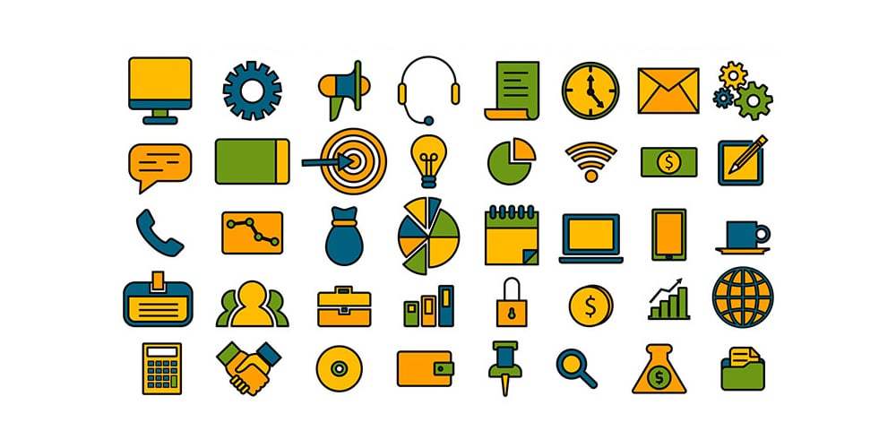 Free Business Management Icons
