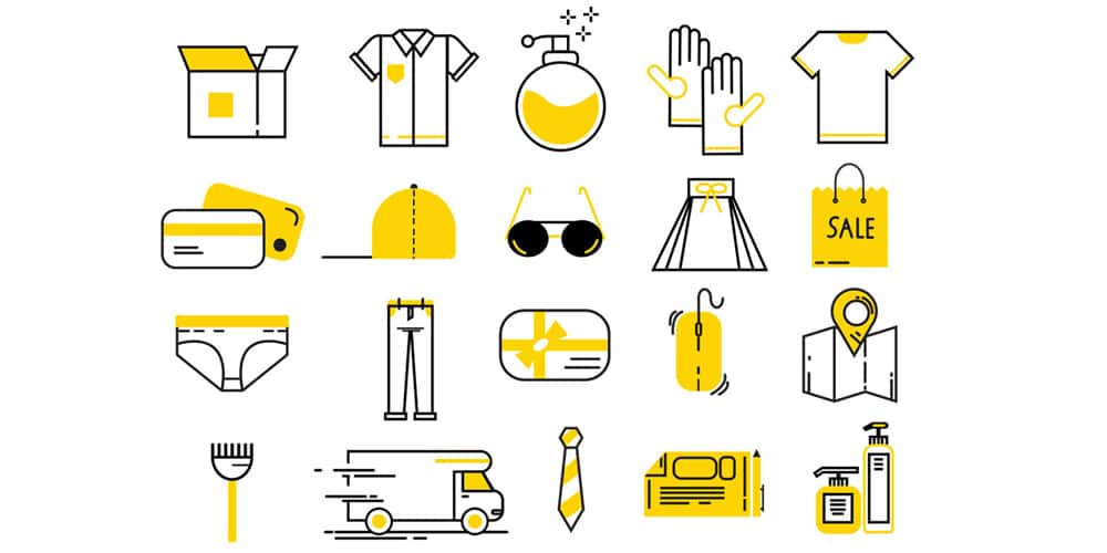 Free-Flat-Shopping-Vector-Icons