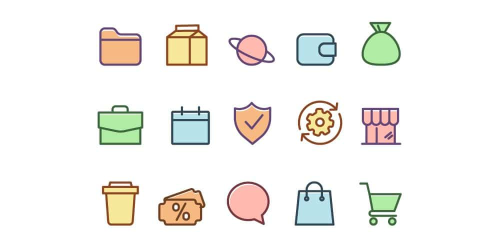 Free General Color Icons