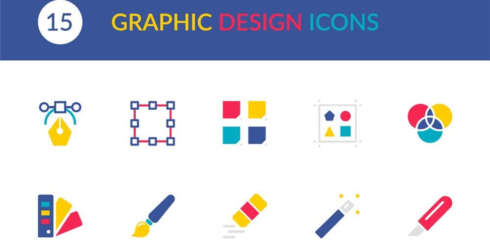 Free Graphic Design Vector Icons