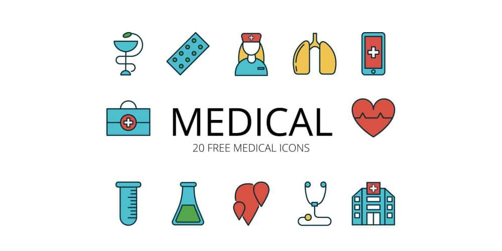 Free Medical Vector ‭Icons