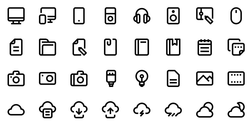 Free-Mix-line-icons