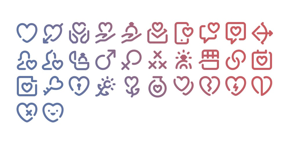 Free-Tidee-Romantic-icons