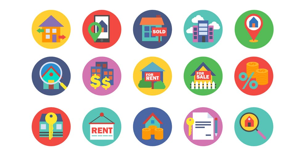 Free Vector Real Estate Icons