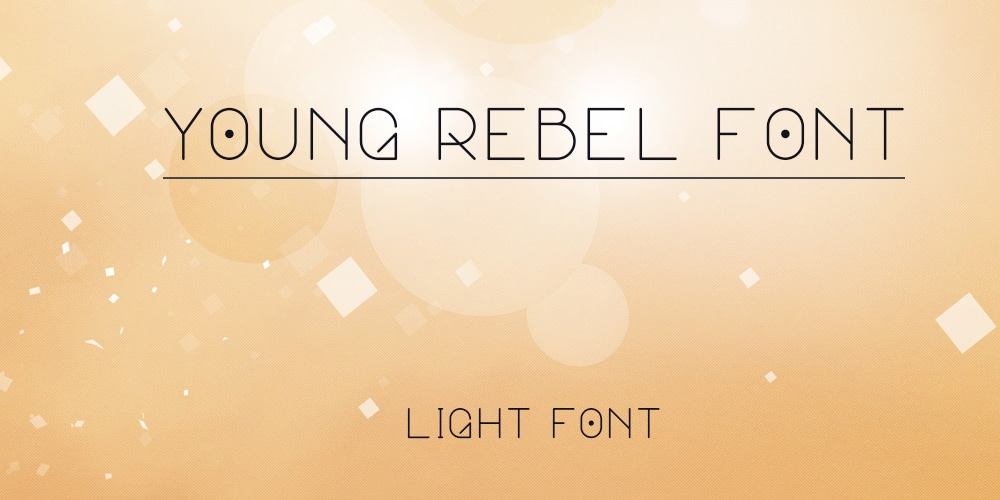 Free Young Rebel Font