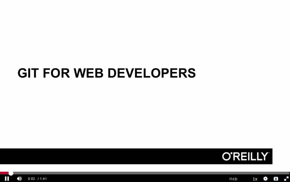 Git Fundamentals for Web Developers