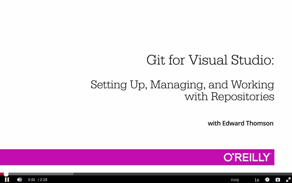 Git for Visual Studio