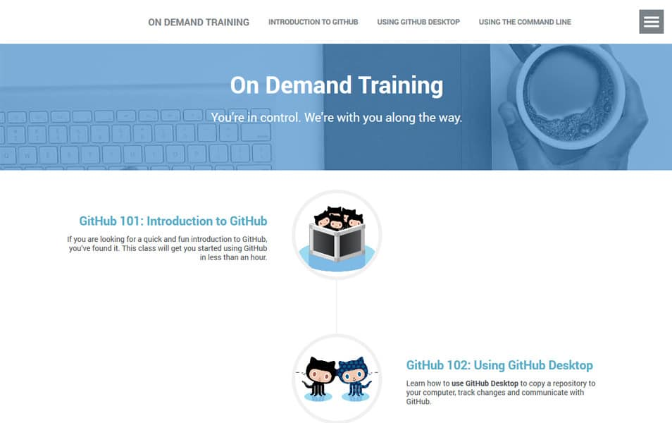 GitHub Services on Demand Training