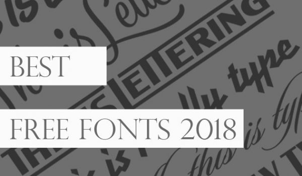Great Free Fonts for Designers 2018