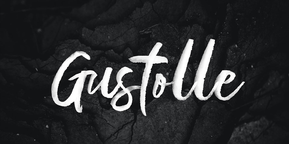 Gustolle Display SVG Font