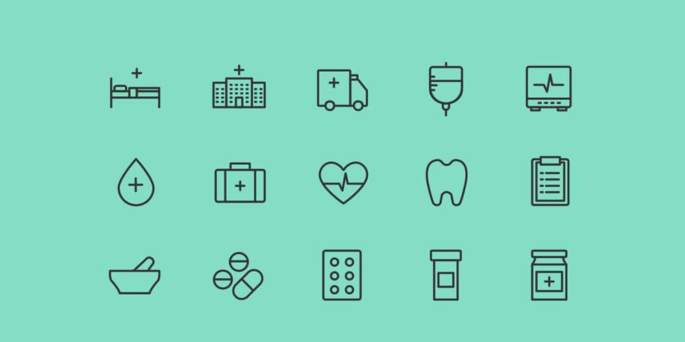 Health and Care Icons