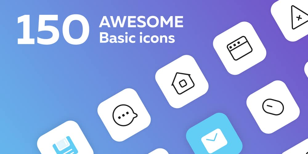 Interface Basic Icons