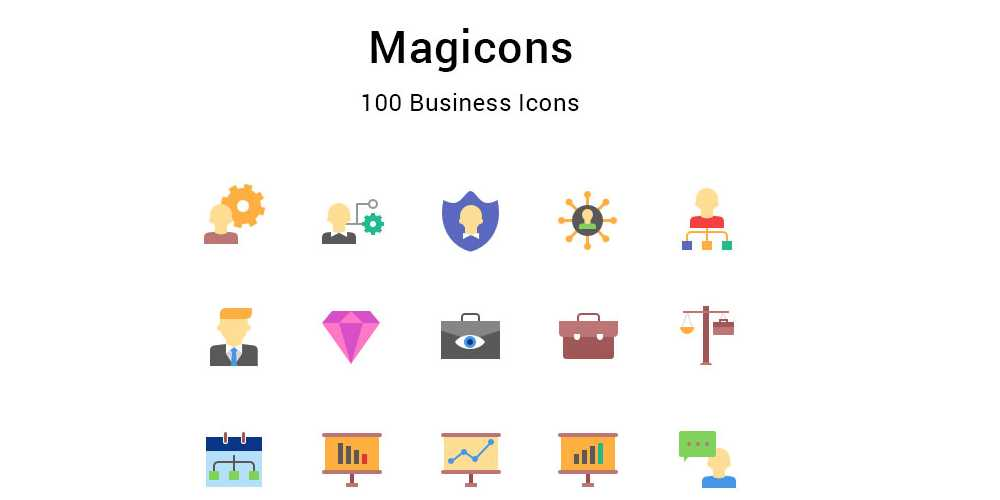Magicons Business Icons