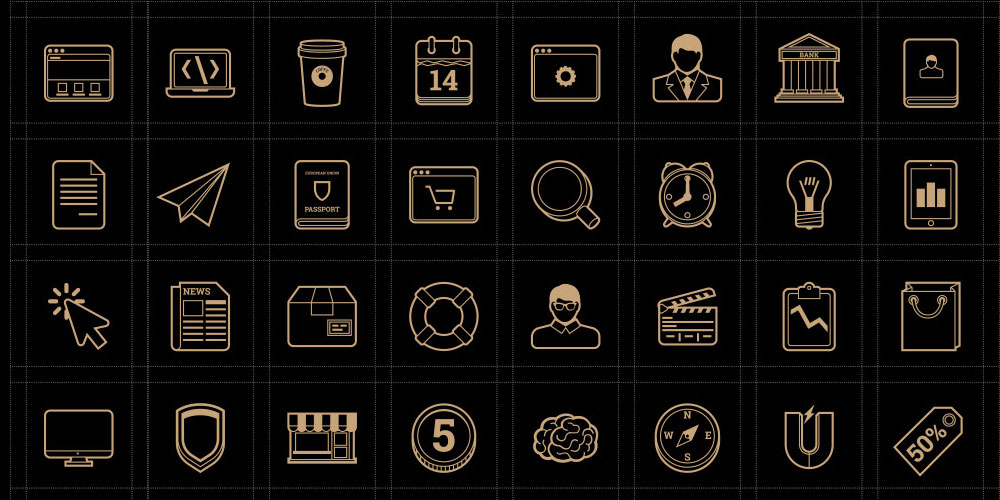 Marketing Vector Line Icons