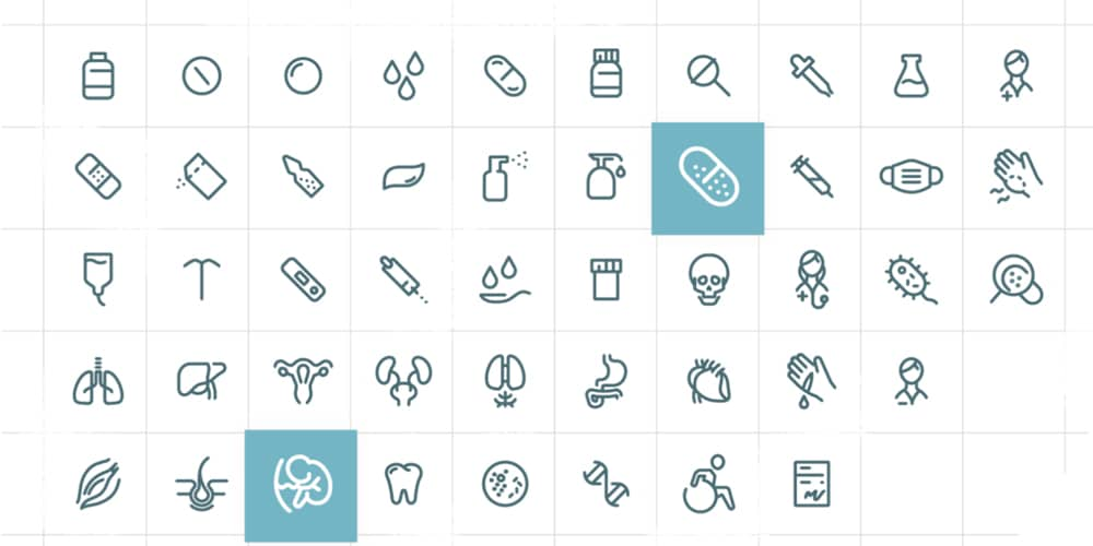Medical & Pharma Icons