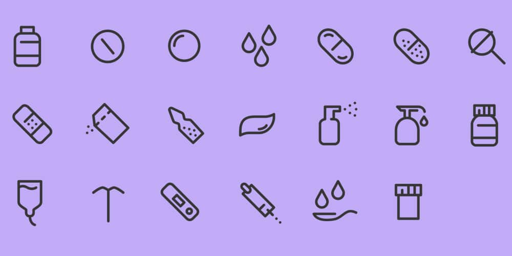 Medical and Pharma Icons