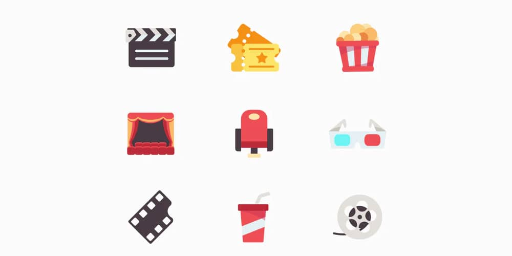 Movie Vector Icon