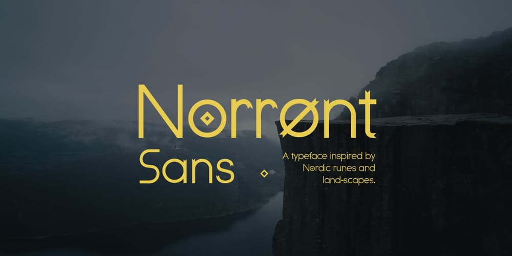 Norront Typeface