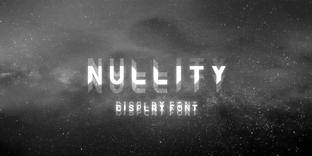 Nullity Font