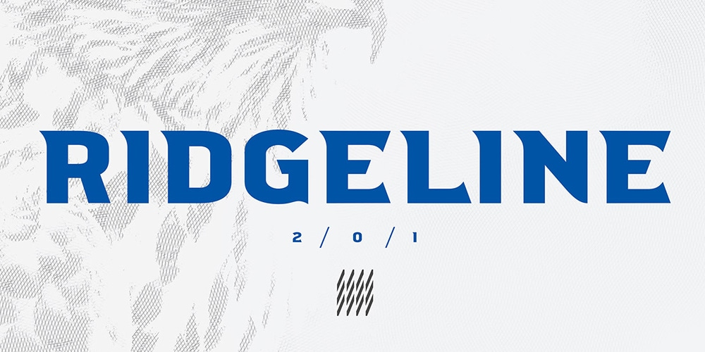 Ridgeline 201 Display Typeface