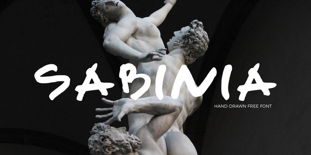 Sabinia Free Font