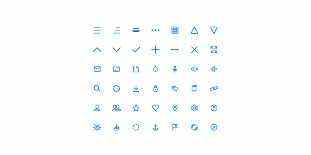 Sailor UI Icons