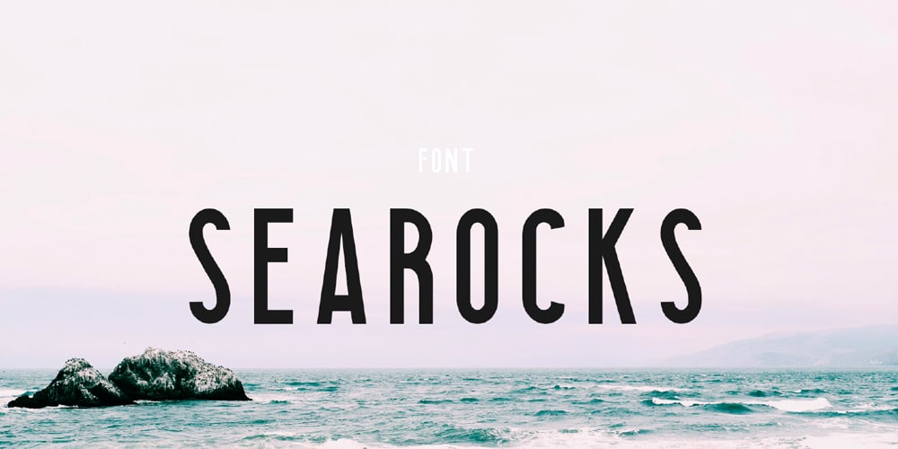 Searocks Sans Serif Typeface