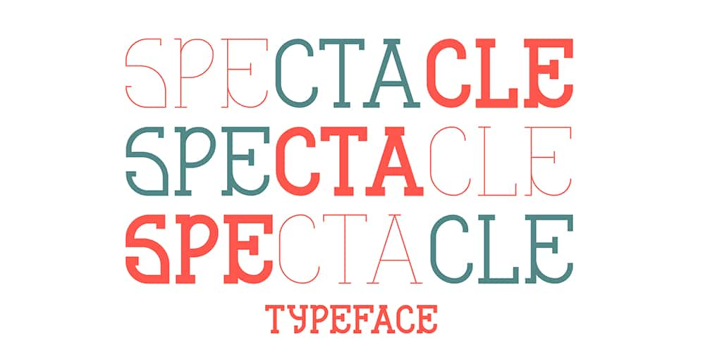Spectacle Typeface