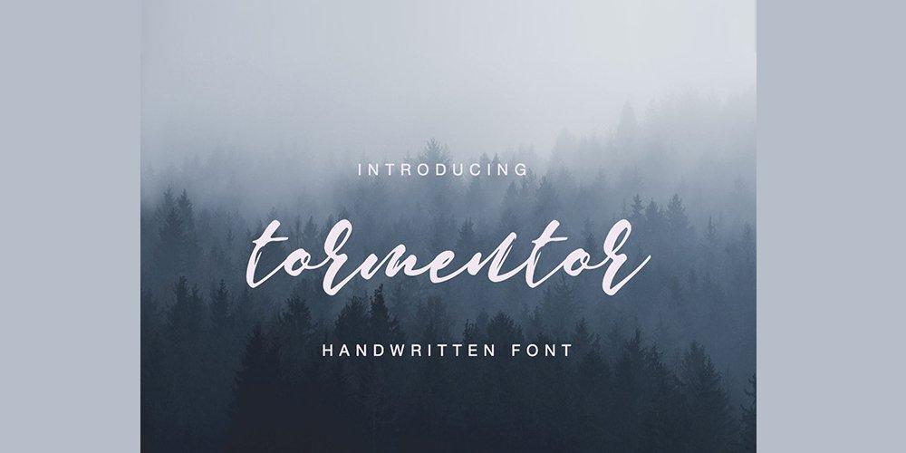 Tormentor Handwritten Font