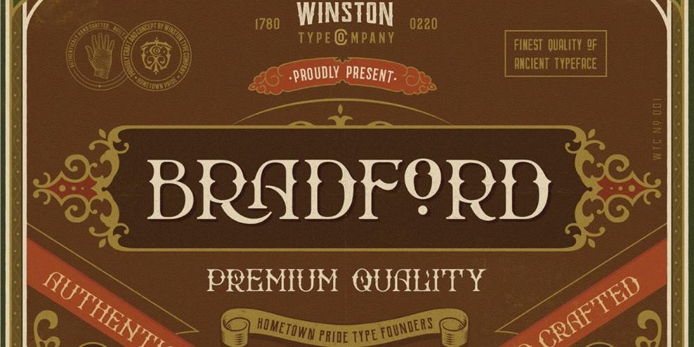WT BRADFORD - FREE FONT