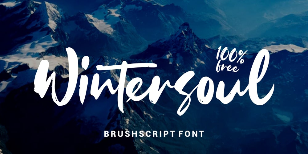 Wintersoul Brush Script