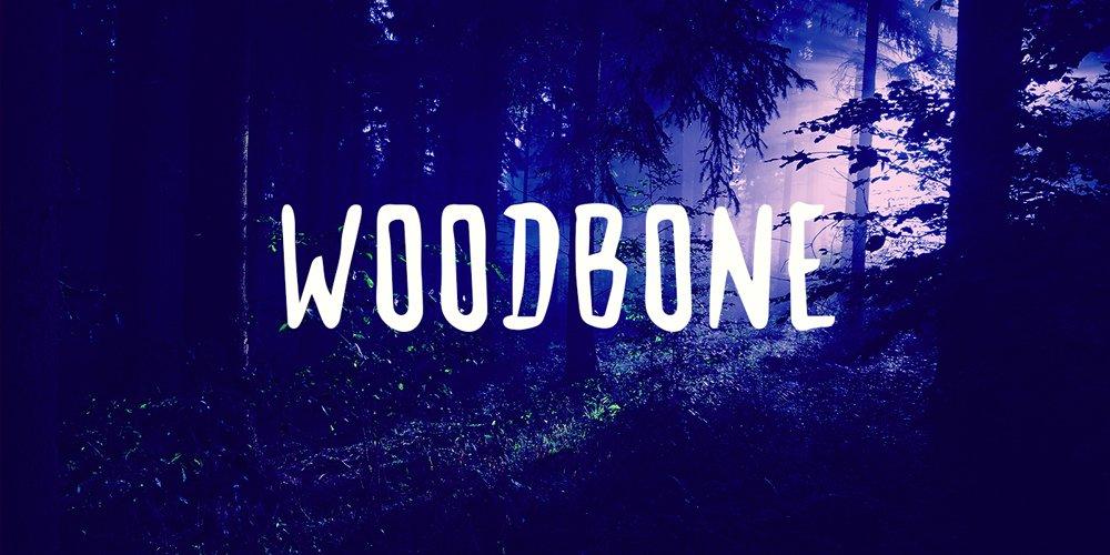 Woodbone Font