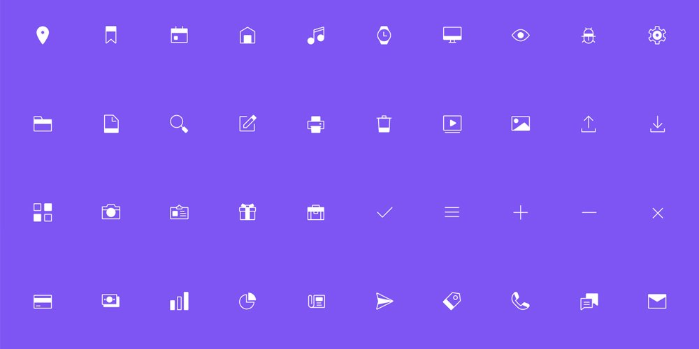 Free Line and Solid Icons