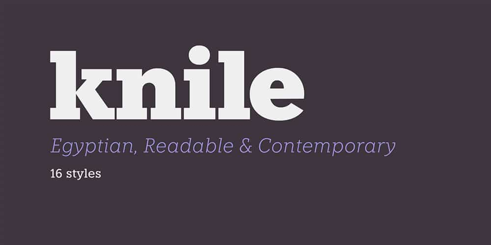 Knile Font