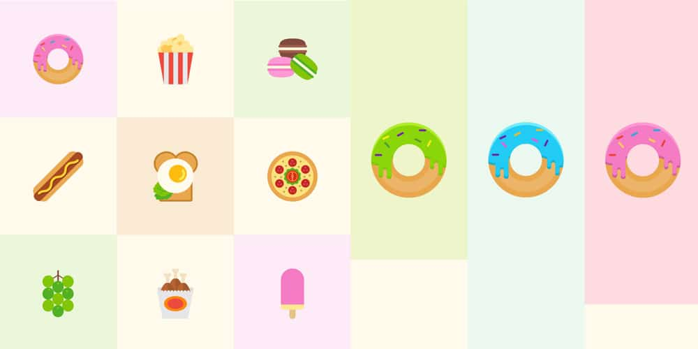 Tasty Food Icons