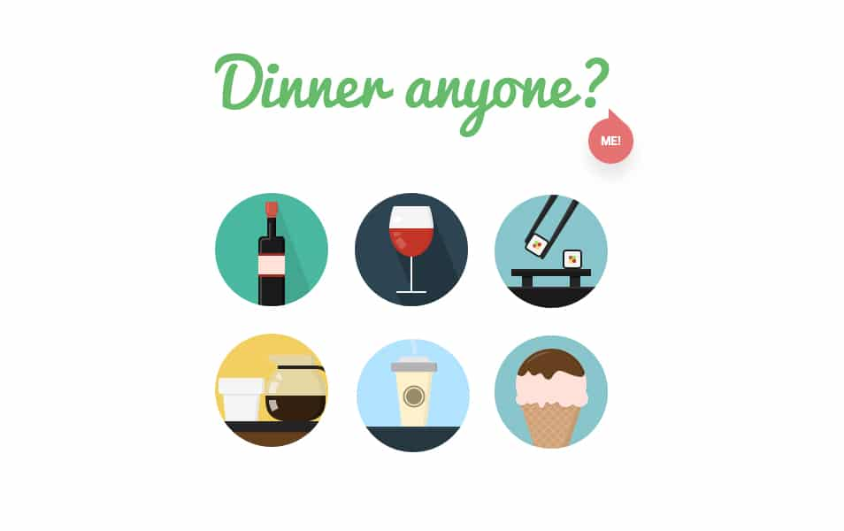 20 Food & Drink Icons