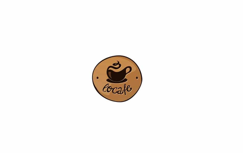 Cafe Logo Vector Template