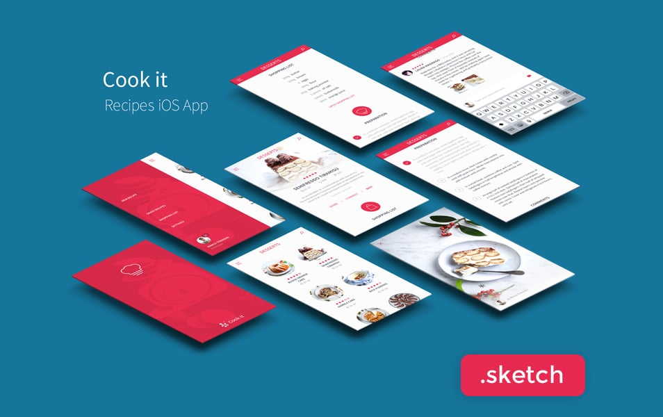 Recipes App UI Kit