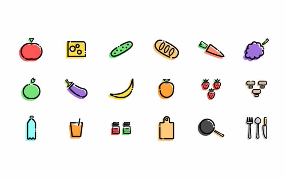Slapdash Kitchen - Free Iconset