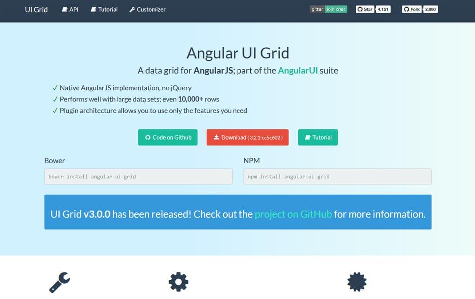 Angular Grid