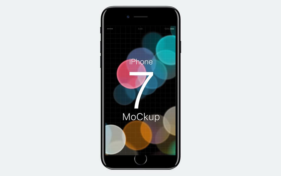IPhone 7 Free Mockup for Photoshop